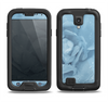 The Drenched Blue Rose Samsung Galaxy S4 LifeProof Nuud Case Skin Set