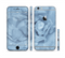 The Drenched Blue Rose Sectioned Skin Series for the Apple iPhone 6s