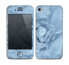 The Drenched Blue Rose Skin for the Apple iPhone 4-4s