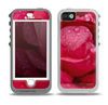 The Drenched Red Rose Skin for the iPhone 5-5s OtterBox Preserver WaterProof Case
