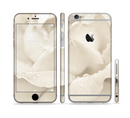 The Drenched White Rose Sectioned Skin Series for the Apple iPhone 6s