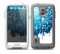 The Dripping Blue & White Music Notes Skin for the Samsung Galaxy S5 frē LifeProof Case