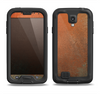 The Dusty Burnt Orange Surface Samsung Galaxy S4 LifeProof Nuud Case Skin Set