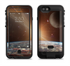 the earth moon and sun space scene  iPhone 6/6s Plus LifeProof Fre POWER Case Skin Kit
