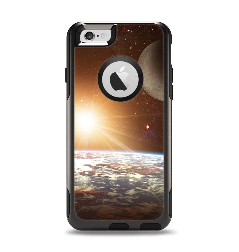 The Earth, Moon and Sun Space Scene Apple iPhone 6 Otterbox Commuter Case Skin Set