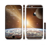 The Earth, Moon and Sun Space Scene Sectioned Skin Series for the Apple iPhone 6 Plus