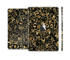 The Elegant Golden Swirls Skin Set for the Apple iPad Mini 4