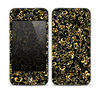 The Elegant Golden Swirls Skin for the Apple iPhone 4-4s