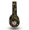 The Elegant Golden Swirls Skin for the Original Beats by Dre Studio Headphones