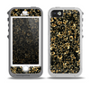 The Elegant Golden Swirls Skin for the iPhone 5-5s OtterBox Preserver WaterProof Case