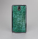 The Emerald Green Choppy Pattern Skin-Sert Case for the Samsung Galaxy Note 3