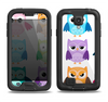 The Emotional Cartoon Owls Samsung Galaxy S4 LifeProof Fre Case Skin Set