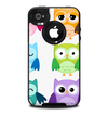 The Emotional Cartoon Owls Skin for the iPhone 4-4s OtterBox Commuter Case