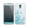 The Escaping Butterfly Floral Skin For the Samsung Galaxy S5