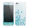 The Escaping Butterfly Floral Skin for the Apple iPhone 5s