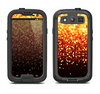 The Faded Gold Glimmer Samsung Galaxy S4 LifeProof Fre Case Skin Set