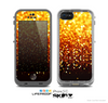 The Faded Gold Glimmer Skin for the Apple iPhone 5c LifeProof Case