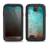The Faded Grunge Color Surface Extract Samsung Galaxy S4 LifeProof Nuud Case Skin Set