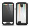 The Faded Pastel Color-Stripes Samsung Galaxy S4 LifeProof Nuud Case Skin Set