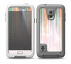 The Faded Pastel Color-Stripes Skin for the Samsung Galaxy S5 frē LifeProof Case