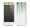 The Faded Pastel Color-Stripes Skin for the Apple iPhone 5s