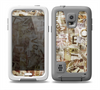 The Faded Torn Newspaper Letter Collage Skin for the Samsung Galaxy S5 frē LifeProof Case