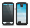 The Fading Light Blue Streaks Samsung Galaxy S4 LifeProof Nuud Case Skin Set