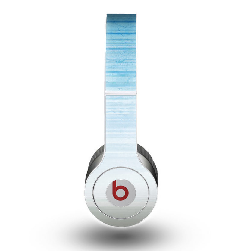 The Fading Light Blue Streaks Skin for the Beats by Dre Original Solo-Solo HD Headphones