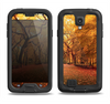 The Fall Back Road Samsung Galaxy S4 LifeProof Nuud Case Skin Set