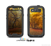 The Fall Back Road Skin For The Samsung Galaxy S3 LifeProof Case