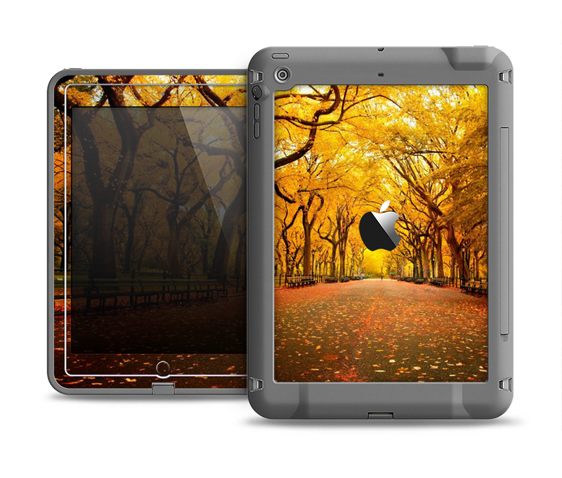 The Fall Back Road Apple iPad Air LifeProof Fre Case Skin Set