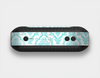 The Fancy Laced Turquiose & White Pattern Skin Set for the Beats Pill Plus