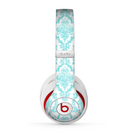 The Fancy Laced Turquiose & White Pattern Skin for the Beats by Dre Studio (2013+ Version) Headphones