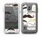 The Fashion Mustache Variety On White Skin for the Samsung Galaxy S5 frē LifeProof Case