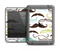 The Fashion Mustache Variety On White Apple iPad Air LifeProof Fre Case Skin Set