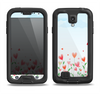 The Field of Blooming Hearts Samsung Galaxy S4 LifeProof Nuud Case Skin Set