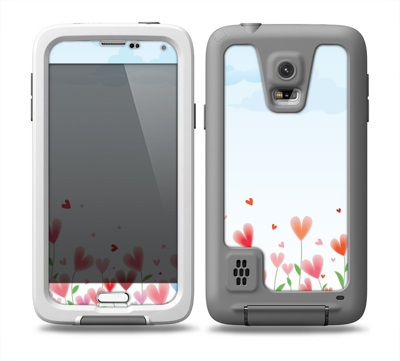 The Field of Blooming Hearts Skin for the Samsung Galaxy S5 frē LifeProof Case