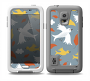 The Flying Vector Birds Pattern Skin for the Samsung Galaxy S5 frē LifeProof Case
