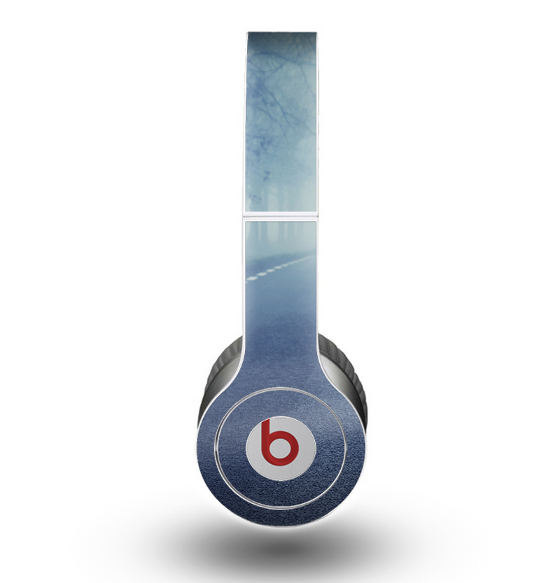 The Foggy Back Road Skin for the Beats by Dre Original Solo-Solo HD Headphones