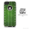 The Football Field Skin For The iPhone 4-4s or 5-5s Otterbox Commuter Case