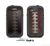 The Football Laced Skin For The Samsung Galaxy S3 LifeProof Case