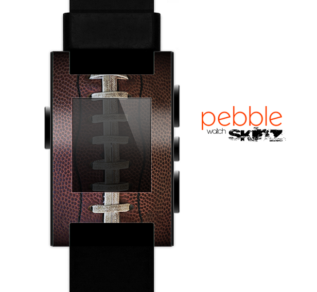 The Football Laced Skin for the Pebble SmartWatch