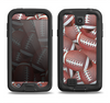 The Football Overlay Samsung Galaxy S4 LifeProof Nuud Case Skin Set