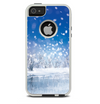 The Frozen Snowfall Pond Skin For The iPhone 5-5s Otterbox Commuter Case