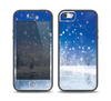 The Frozen Snowfall Pond Skin Set for the iPhone 5-5s Skech Glow Case
