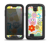 The Fun-Colored Cartoon Owls Skin for the Samsung Galaxy S4 frē LifeProof Case