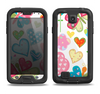 The Fun Colored Love-Heart Treats Samsung Galaxy S4 LifeProof Nuud Case Skin Set