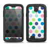 The Fun Colored Vector Polka Dots Samsung Galaxy S4 LifeProof Fre Case Skin Set