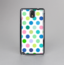 The Fun Colored Vector Polka Dots Skin-Sert Case for the Samsung Galaxy Note 3