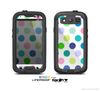 The Fun Colored Vector Polka Dots Skin For The Samsung Galaxy S3 LifeProof Case